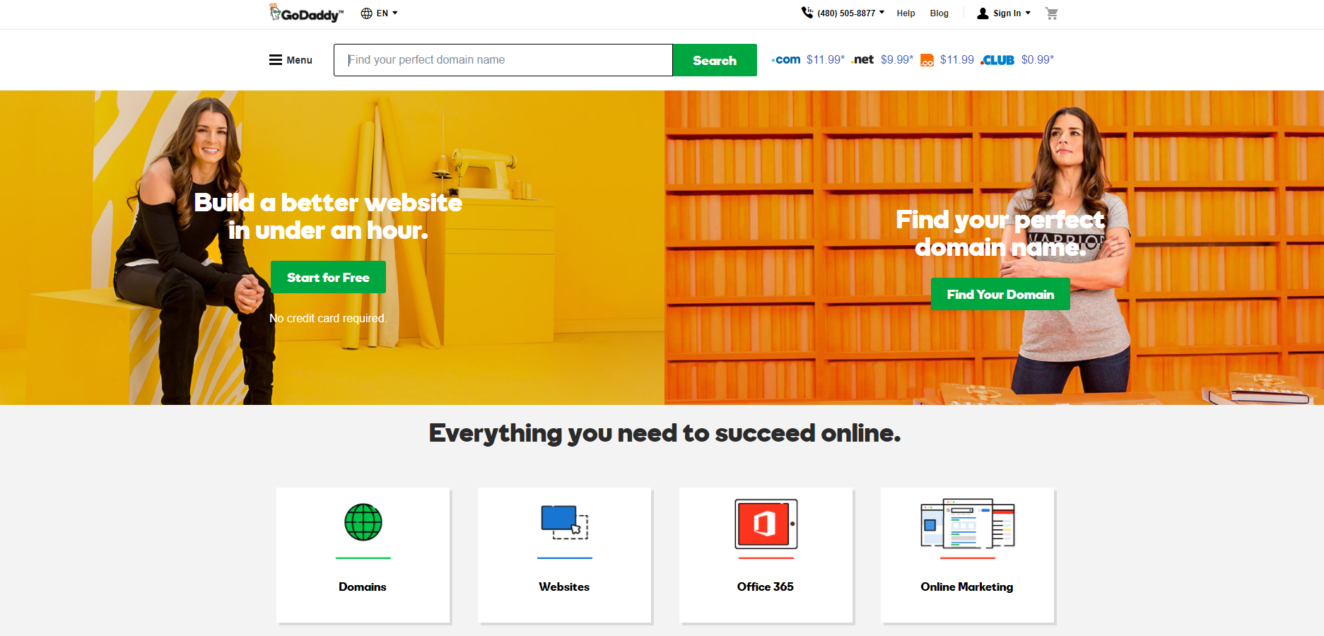 GoDaddy Review: The Most Popular Web Hosting Service