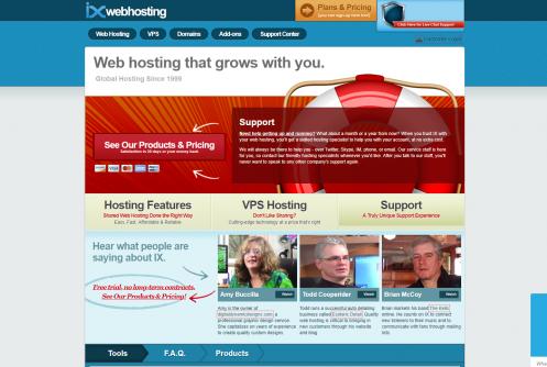 IX Web Hosting Logo